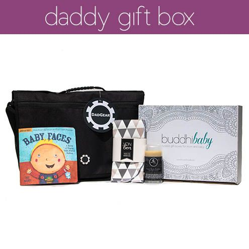 Gift the dad to be in your life with the daddy box!