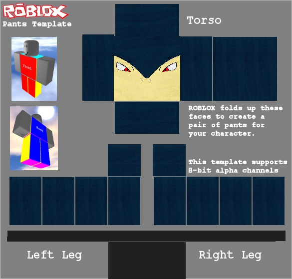 The template for a roblox shirt i made my creations for Roblox shirt template creator