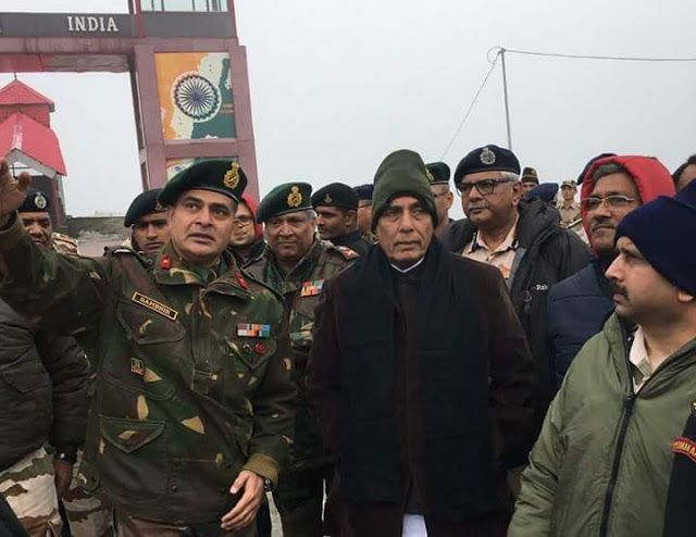 Union Home Minister Rajnath Singh vists Nathu-La in East Sikkim tomorrow will visit West Sikkim   Union Home Minister Sh Rajnath Singh makes a visit to Nathu-La in East Sikkim on 2nd day of Sikkim visit tomorrow will visit West Sikkim.  Union Home Minister Rajnath Singh will chair a meeting with the Chief Ministers of five states on the issue of the India-China Border in Gangtok.  Union Home Minister Rajnath Singh  Today the meeting a discussion will be held about the border infrastructure…