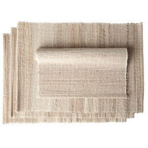 Placemats handmade in India/Napperons fait au Inde
