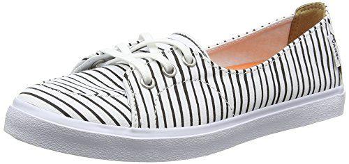 Vans Palisades Sf, Damen Sneakers, Weiß (just Stripes/true White/black), 40.5 EU - http://on-line-kaufen.de/vans/40-5-eu-vans-palisades-sf-damen-sneaker-3