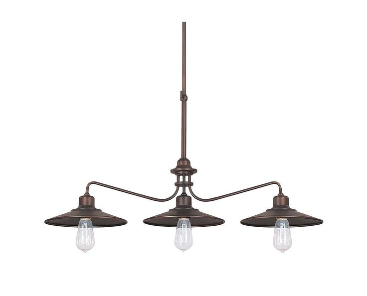 View the Capital Lighting 4198BB Burnished Bronze Urban 3 Light 1 Tier Linear Chandelier at Build.com.