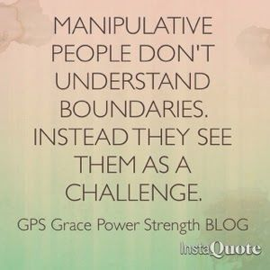 GPS-Grace Power Strength: Men & Women: Healthy Boundaries In A Relationship