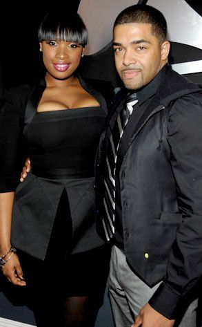 Jennifer Hudson and husband David Otunga