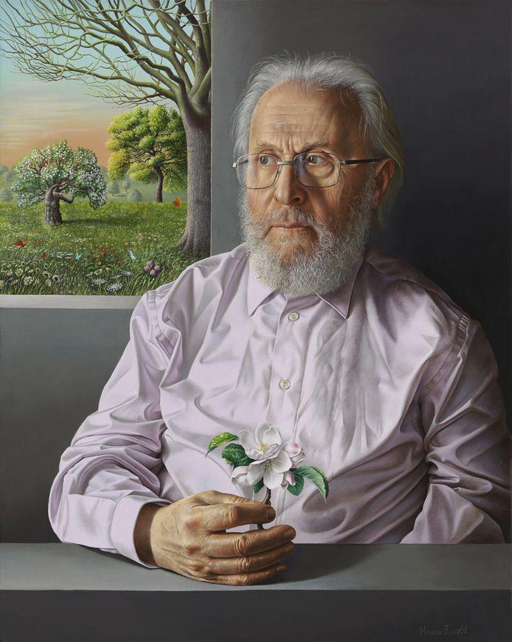 Miriam Escofet 'Jose Escofet' oil on panel 50x40cm