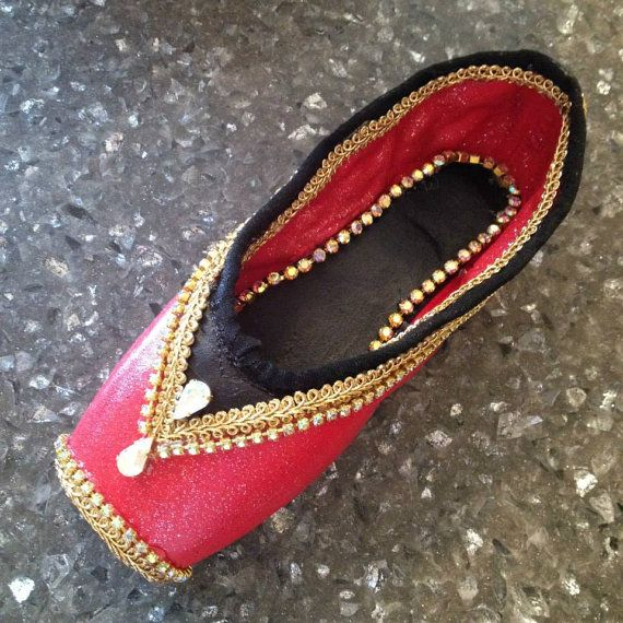 Nutcracker Spanish/Russian/Chinese Decorative Pointe Shoe on Etsy, $75.00