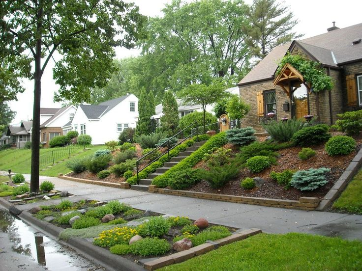 Landscaping Ideas For Sloping Gardens impressive on landscape ideas for sloped backyard landscape design ideas for sloping backyard home design 25 Best Steep Backyard Ideas On Pinterest