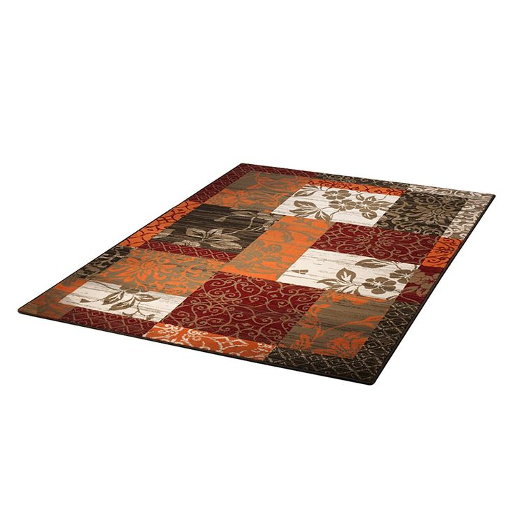 Teppich Prime Pile Line - Rot/Orange - 160 x 230 cm, Hanse Home Collection