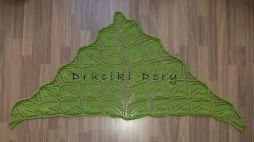 szal / shawl / chusta / druty / knitting / Druciki Dory