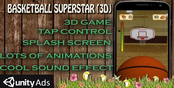Basketball 3D #android #game Download: https://codecanyon.net/item/basketball-3d-/17268891?ref=Ponda