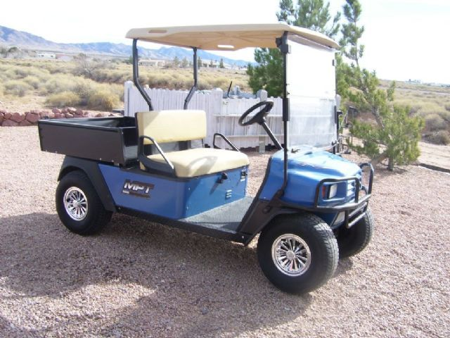 similiar club car workhorse keywords 2006 e z go workhorse 1200 mpt golf cart blue 1 000 miles for
