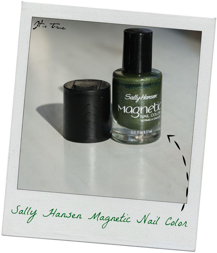 love this nailcolor! #magneticnailcolor #sallyhansen #nailpolish