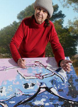 Artiste peintre, auteur, illustratrice.