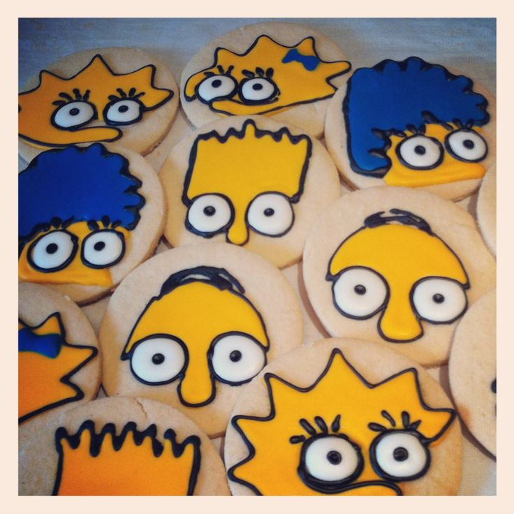 The Simpsons cookies