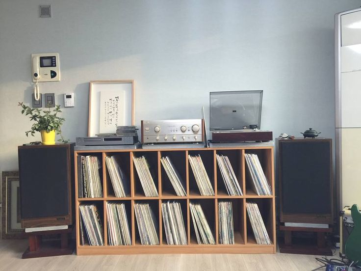 record collection - Record Shelf