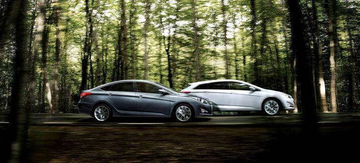 Pe care dintre cele doua masini v-ar placea sa o conduceti: Hyundai i40 sedan sau i40 cw?