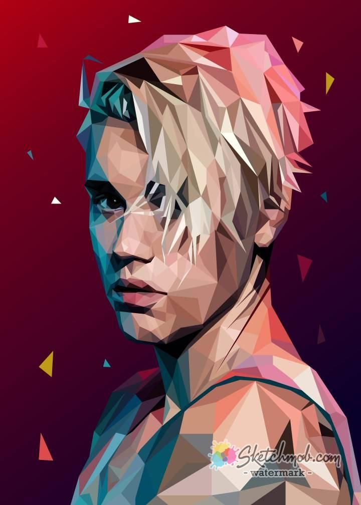 I Can Turn Your Favorite Photo Into Stylized Vector Art Special In Lowpoly Style This Is The Lowpoly Style That In 2020 Low Poly Art Vector Portrait Illustration Art