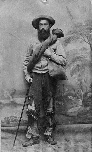 """Now that's one scruffy Confederate veteran soldier...May I add that the whole rebel army was """"scruffy"""" due to a lack of supplies, uniforms, shoes, hats, and food.  It's a wonder that they were able to fight for four years, if not for the brilliant leadership in the army."""