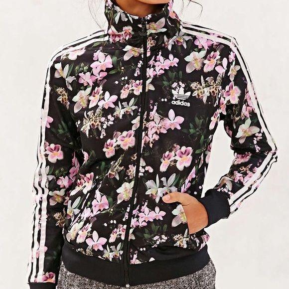 Floral Adidas Originals Orchid Track Jacket Adidas