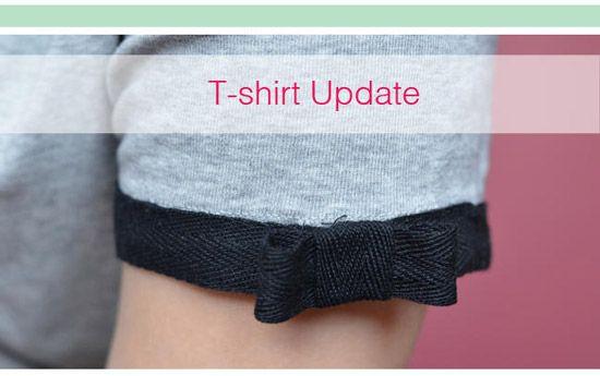 Aujourd'hui je vous présente un DIY très sympa. Il est tout en images et vous apprendra à customiser un tee-shirt en lui ajoutant un joli petit ruban sur chaque manche. L'idée est simple, facile à réaliser, bref, tout ce que j'aime. Et vous, vous aimez cette idée ?