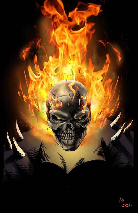 Ghost Rider by JHB by spidey0318 on DeviantArt_____!!!!