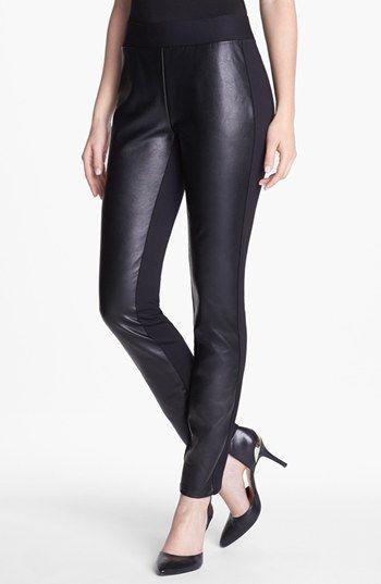 NYDJ Faux Leather Leggings Nordstrom