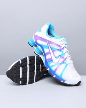 Nike Shox Roadster Sneakers. Maybe with orange instead of purple? Or black and red. Or orange and black. Or..... :)