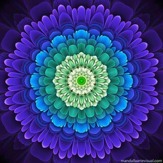 VIBRACIÓN CURATIVA La enfermedad viene de adentro hacia afuera, es decir, del espíritu a la materia, el encuentro de la curación dependerá de la renovación interior. Al llegar a este nivel de armonía interior, nuestra mente vibra en las frecuencias mejores al equilibrio y la felicidad,  haciendo que la salud del espíritu se llene por todo el cuerpo. www.divinasmandalas. wix. com/dmandala