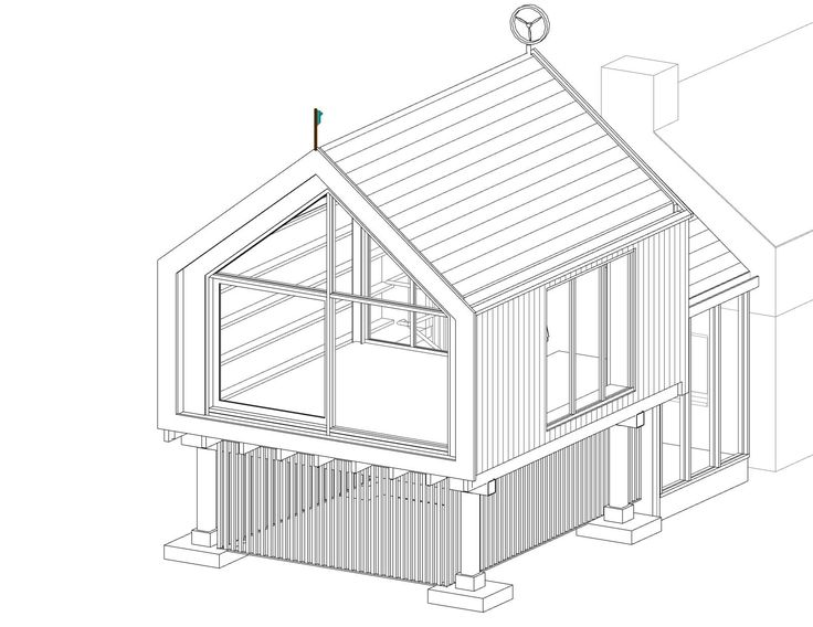 Room Extension On Stilts   Google Search