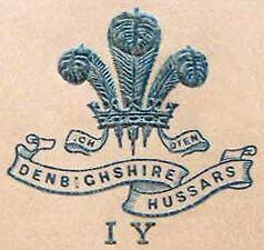 Denbighshire Hussars Imperial Yeomanry Crest.
