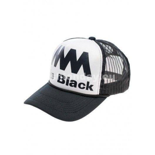 Čierná pánska šiltovka Like black - fashionday.eu