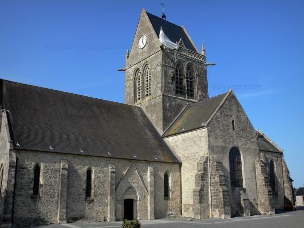 Sainte-Mère-Eglise - Gids voor toerisme, vakantie & weekend in de Manche