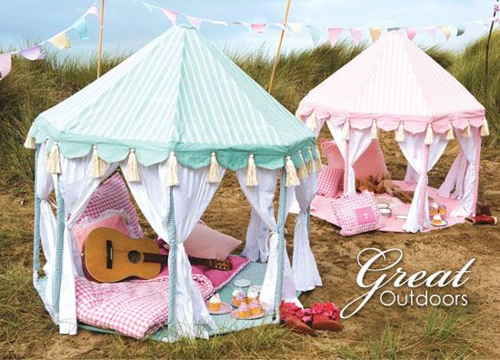 Children's tents or play houses made with PVC pipe!