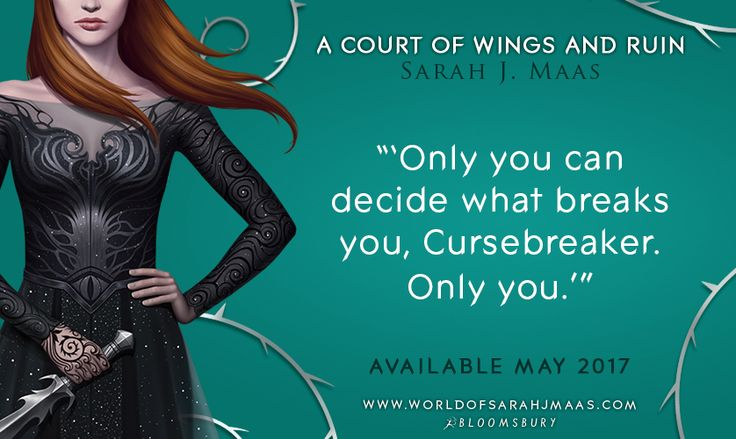 Umm is ACOWAR going to break us?? ----- Obviously. it's written by Sarah J Maas