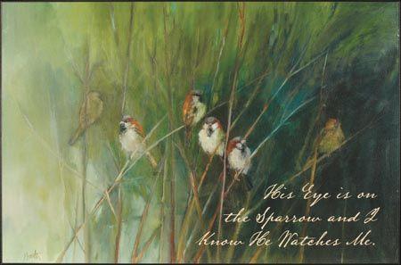 Summer Sparrows, by Ellen Granter - Christian Art