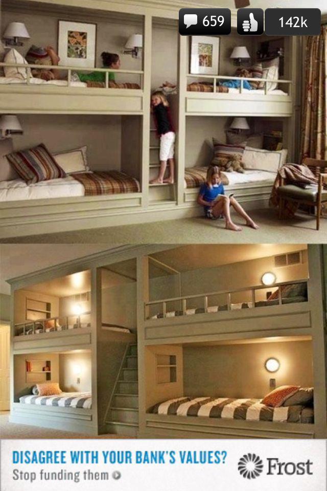 112 Best Kids Bunk House Images On Pinterest Bedroom