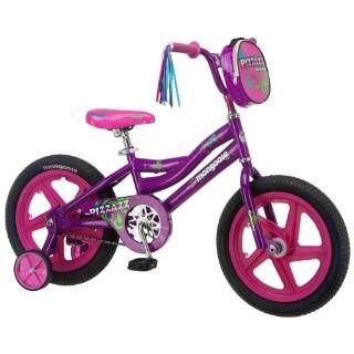 "Check out the Mongoose R1677B Pizazz 16"" Girls Bike in Purple and Pink"