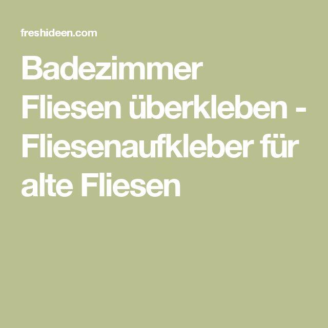 Badezimmer Fliesen 20 X 25: Best 20+ Alte Fliesen Ideas On Pinterest