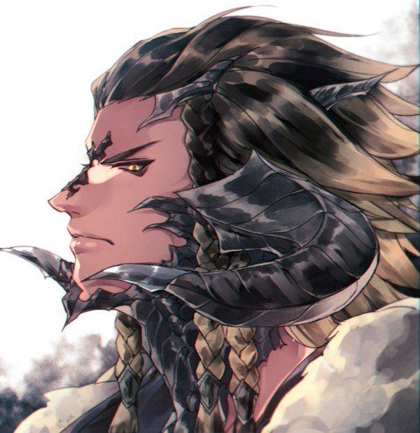 Final Fantasy XIV Au Ra | Concept Art in 2019 | Final