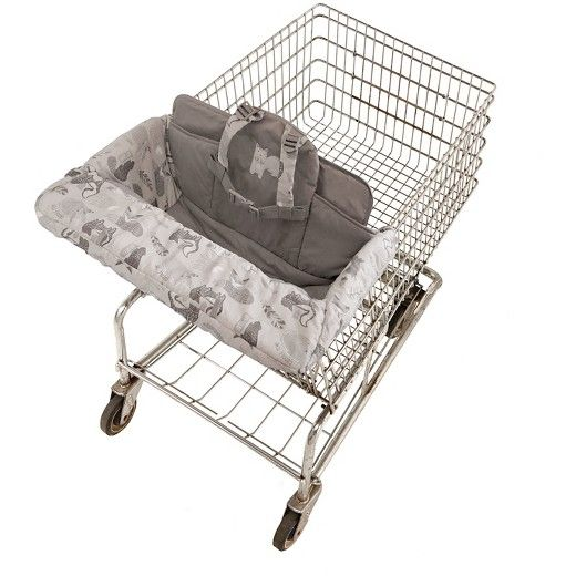 Eddie Bauer Shopping Cart & High Chair Cover-Grey : Target