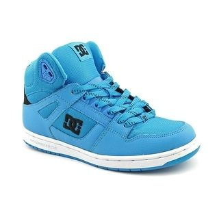 40 . Shop for DC Shoes Rebound High Women Round Toe Leather Blue Skate Shoe. Free Shipping on orders over $45 at Overstock.com - Your Online Shoes Outlet Store! Get 5% in rewards with Club O!
