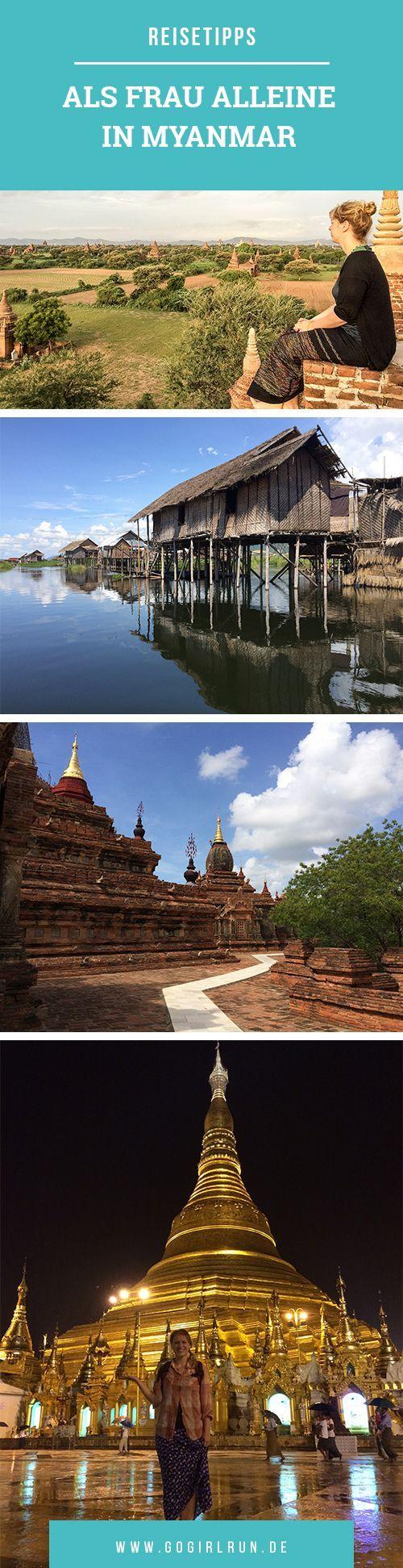 Alleine als Frau in Südostasien reisen: Meine Erfahrungen und Erkenntnisse aus vier Wochen Reisen in Myanmar und Thailand. Reisetipps und Erfahrungen.