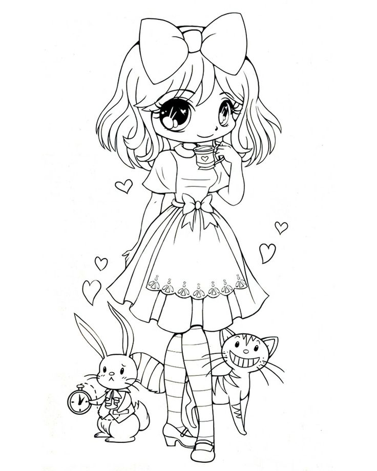 Quirky artist loft sweet lolita coloring pages