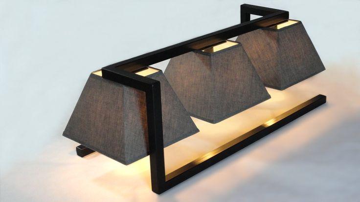 D-snooker est son nom. Cette lampe à poser a l'allure des plafonniers de salle de billard. www.m-trend.fr M'trend - Luminaire et mobilier