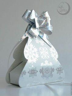 Creative Ideas - DIY Cute Christmas Tree Gift Box | iCreativeIdeas.com Follow Us on Facebook --> https://www.facebook.com/iCreativeIdeas