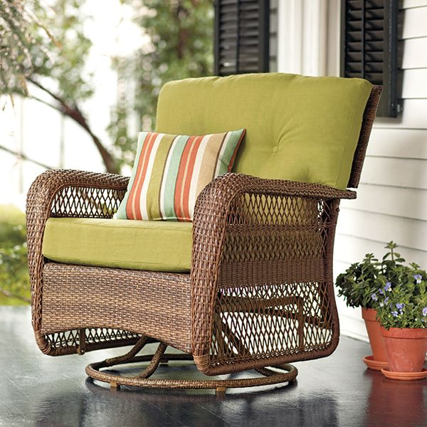 Martha Stewart Living™ Charlottetown Brown All-Weather ... on Martha Stewart Wicker Patio Set id=42739