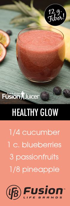 Get that healthy glow with this delicious juice! #jacklalanne #fusionjuicer #juicing #healthyliving