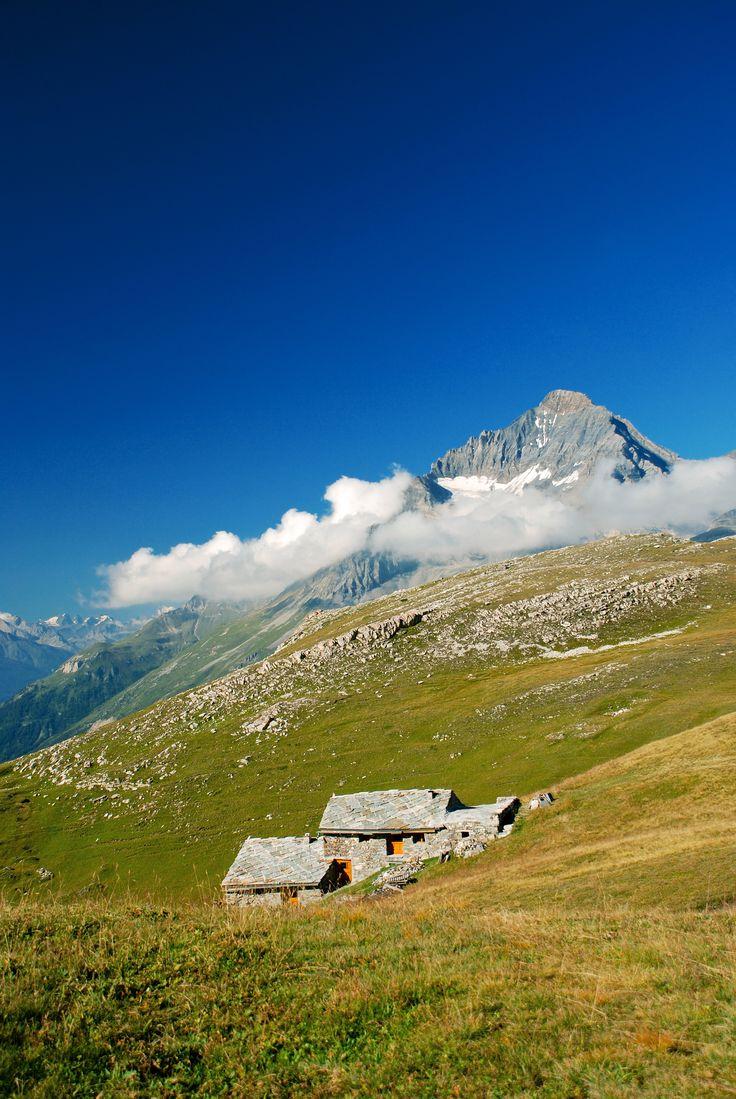 Vue sur la Dent Parrachée - Termignon La Vanoise © Romuald Ruelle