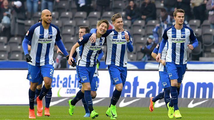 Am Samstagnachmittag (04.02.17) besiegte Hertha BSC den FC Ingolstadt 04 mit einem frühen Tor 1:0. - Profis