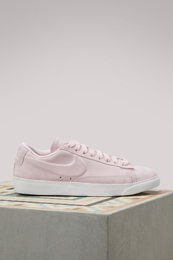 newest 1a3a2 586f8 Pretty pastel Nike Blazer Low Suede, perfect for the spring!    Shoes I  Love    sneakers   Sneakers Women